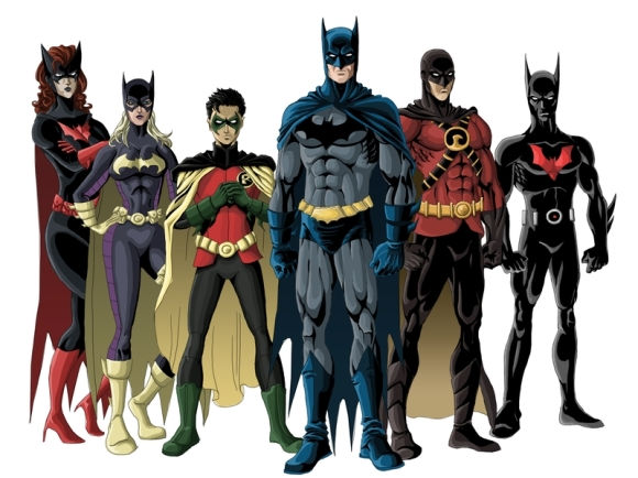 Perfect line-up would include Bat-Woman, Damian, Bruce, Dick and Tim...Batgirl is unnecessary and she was so much better as Oracle. But that's another rant.